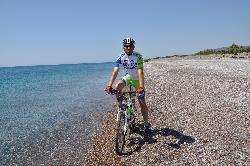 Na wakacjach zmieniam słuchawki na rower  - wyspa Rhodos-1