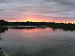 Nocka nad Bugiem na rybach.-1