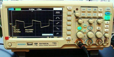 100 Hz przy Vpp 11,6V.JPG
