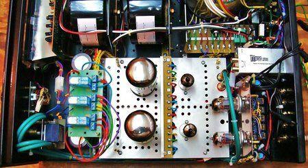 6) Testowany układ przełączenia trybów pracy na przekaźnikach.JPG