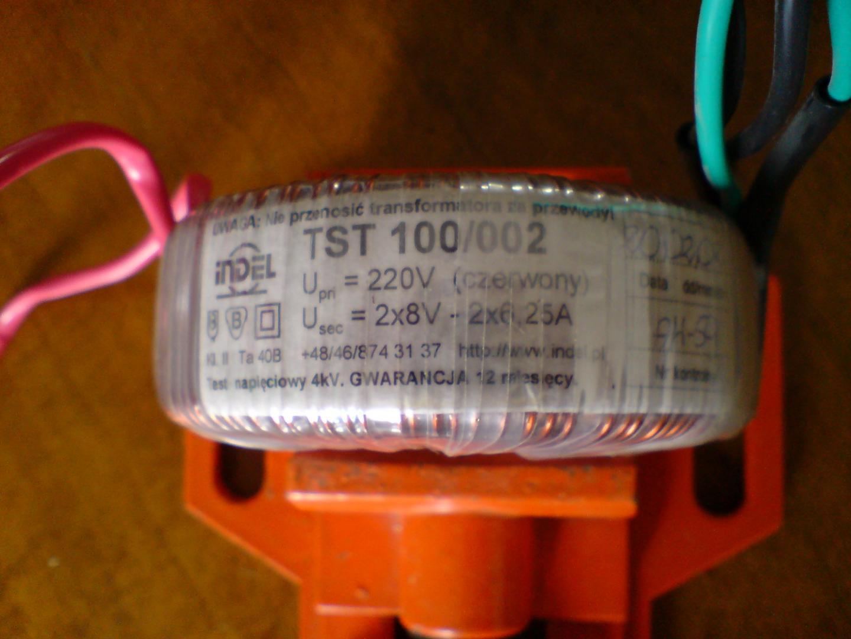 Podłączenie transformatora edcor