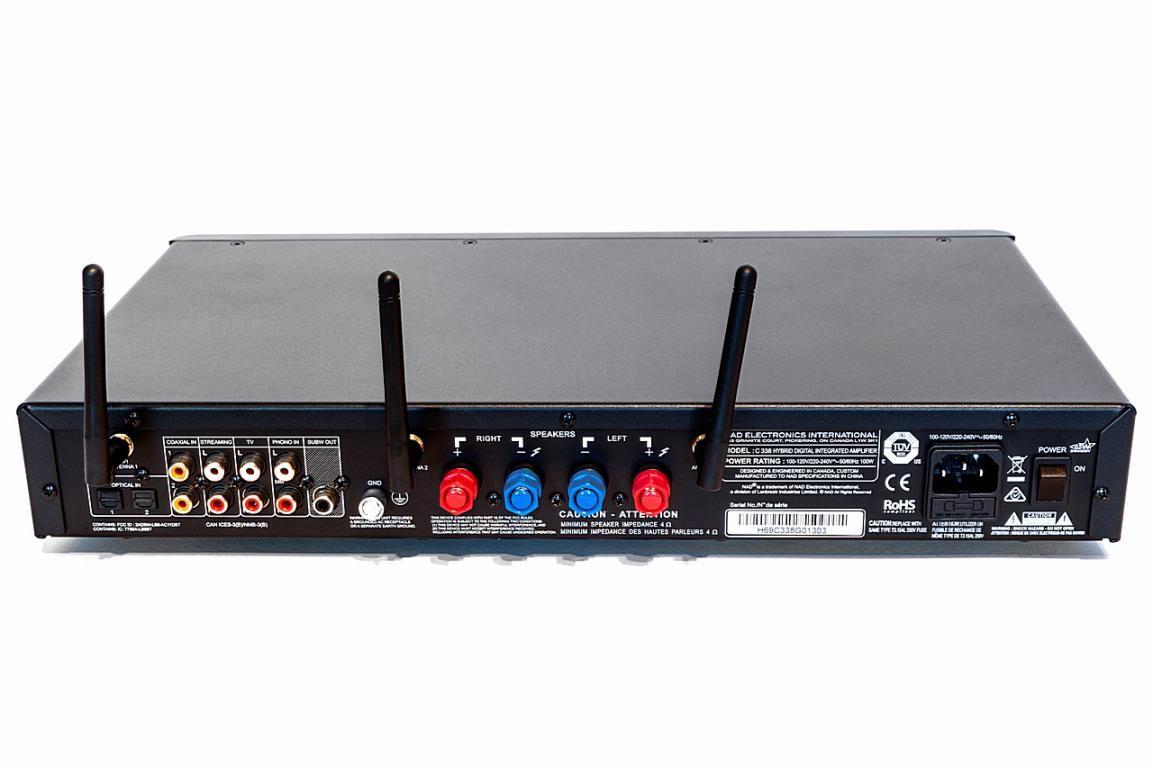NAD C 338 - Wzmacniacze - Audiostereo pl