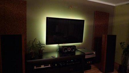 Podświetlenie Tv Własnej Roboty Kino Domowe Audiostereopl