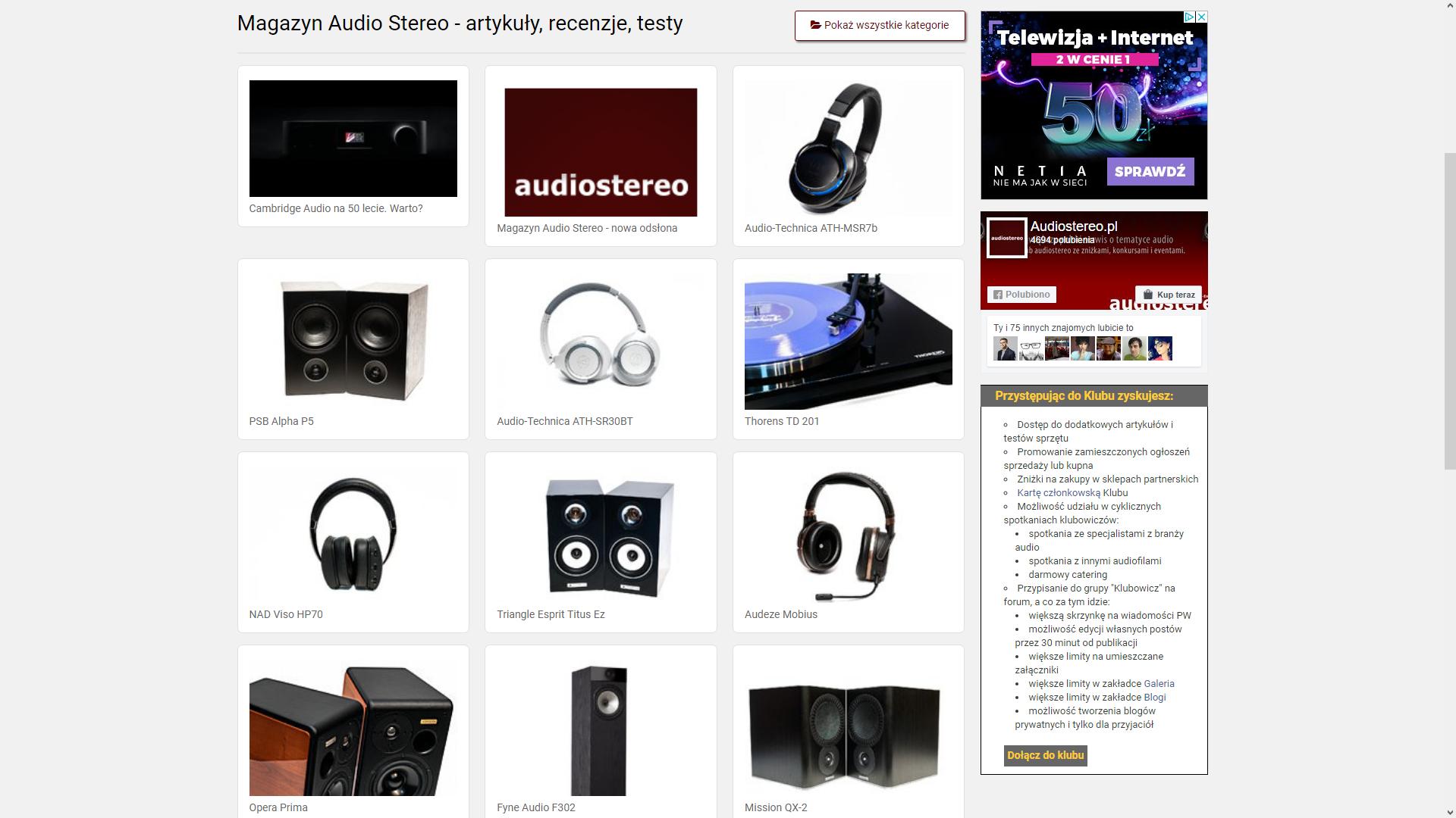 Magazyn audiostereo - nowa odsłona